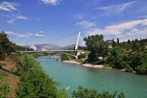 モンテネグロ、ポドゴリツァ市の橋