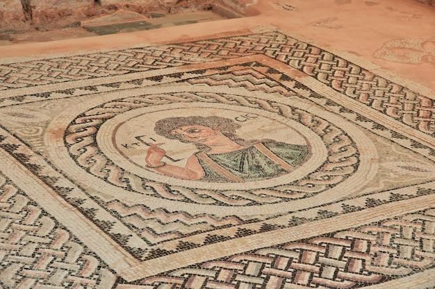 Древние руины куриона, кипр