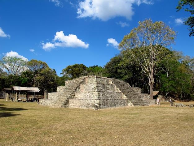 コパン、ホンジュラスの古代遺跡