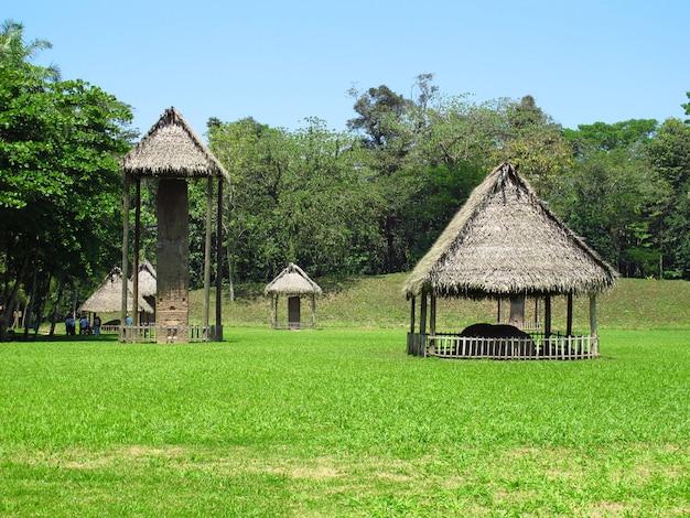 メキシコ、マヤの古代遺跡
