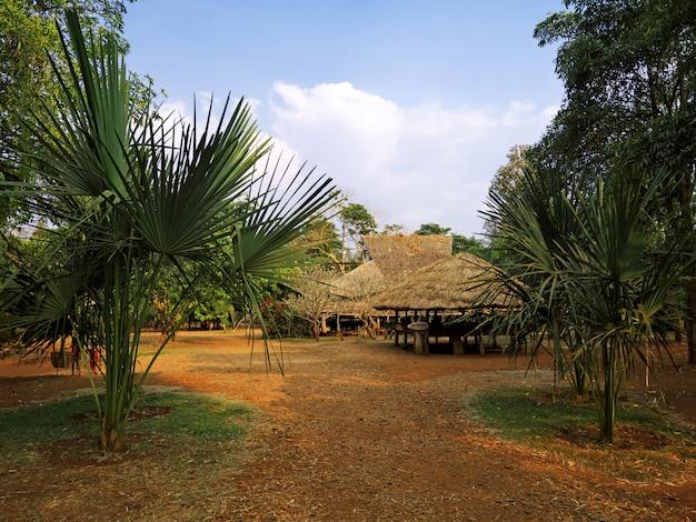 Небольшая деревня на юге лаоса