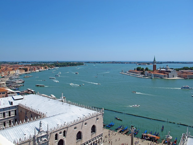 Вид на венецию, италия