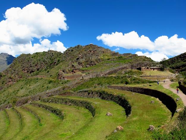 南アメリカ、ペルー、インカのウルバンバ神聖な谷