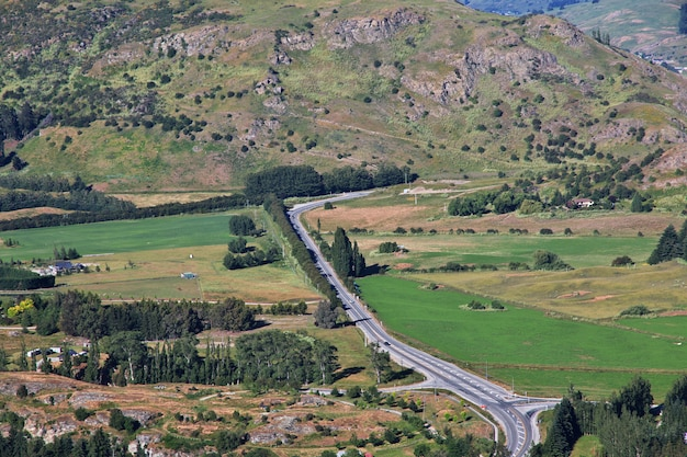 Эрроутаун деревня древний город, новая зеландия