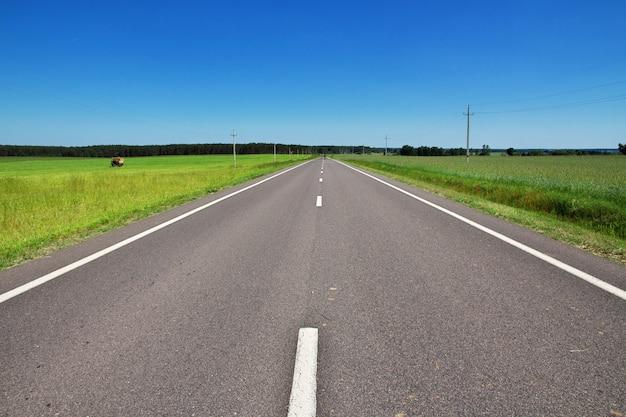 Дорога по белорусской стране