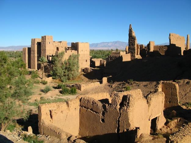 クサール-ベルベル邸、ワルザザート、モロッコ