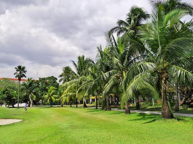フィリピン、マニラ市の公園