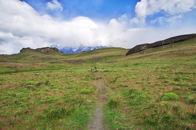Национальный парк торрес дель пайне, патагония, чили