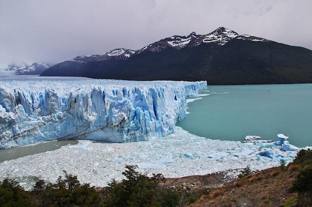 Ледник перито морено закрыть эль калафате, патагония, аргентина