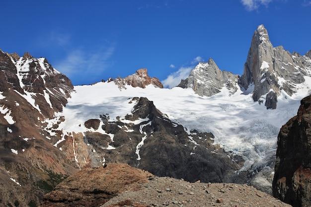 Гора фитц рой, эль-чальтен, патагония, аргентина