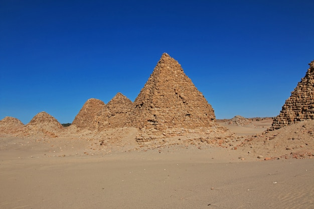 ヌリ、スーダンの古代のピラミッド