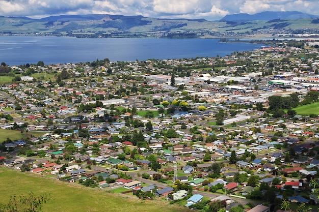 ニュージーランド、ロトルア市