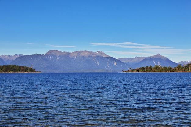 Озеро южного острова, новая зеландия
