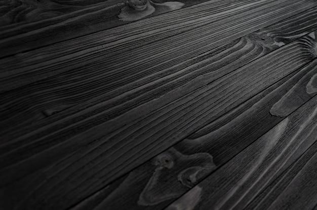 黒い木目テクスチャ