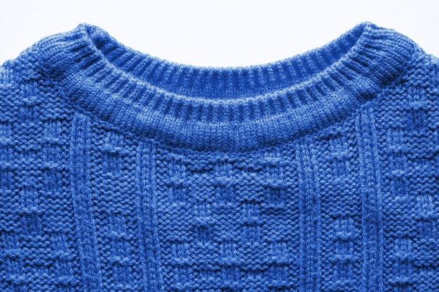 Текстура вязаного свитера изолирована
