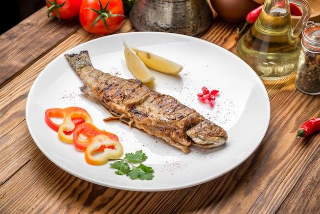 魚料理-野菜炒め