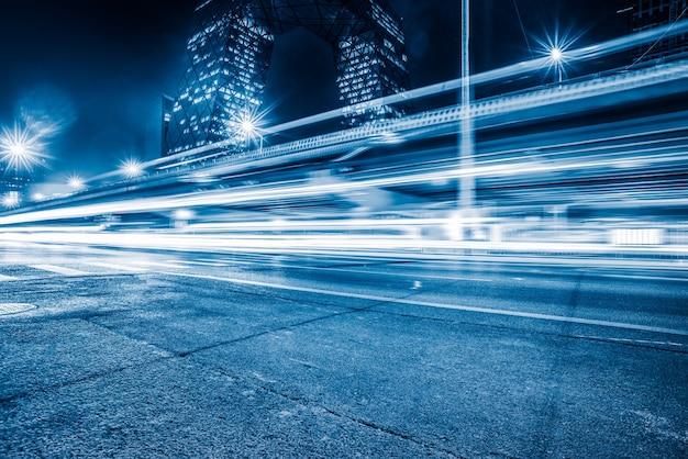 Шанхай городского строительства и дороги, синий смысл технологии