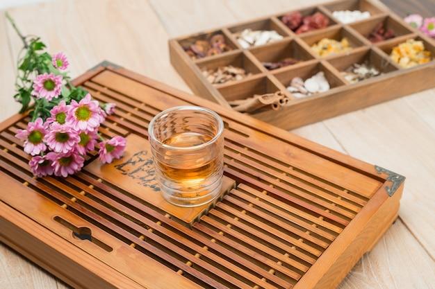 中国の漢方薬ボックス