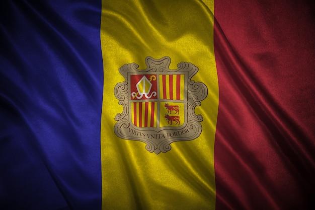 Флаг андорры фон