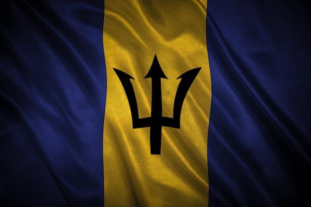 バルバドスの背景の旗