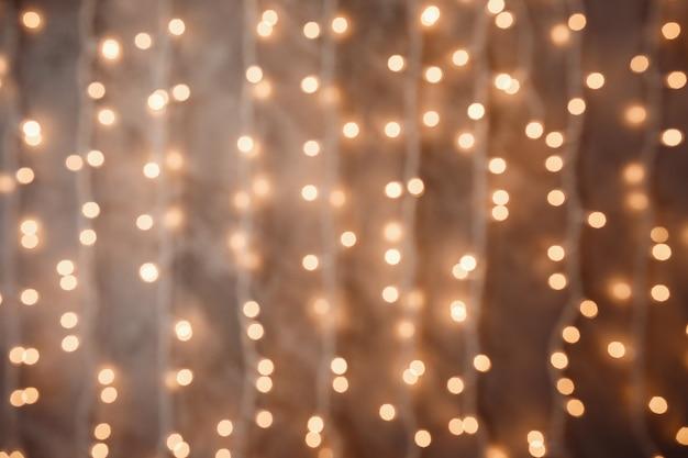 ぼやけたクリスマスライト