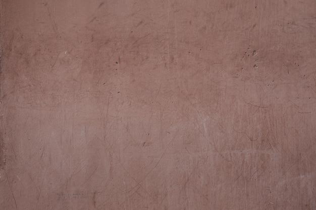 茶色のコンクリート滑らかな壁テクスチャ