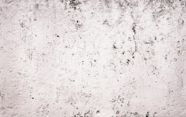 白いセメントの割れた壁