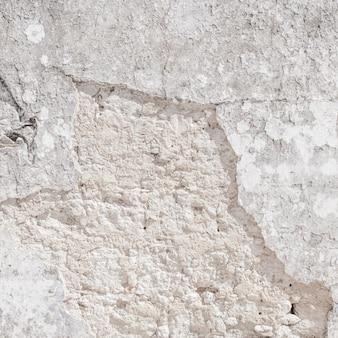 テクスチャのための空白のコンクリートの壁の白色