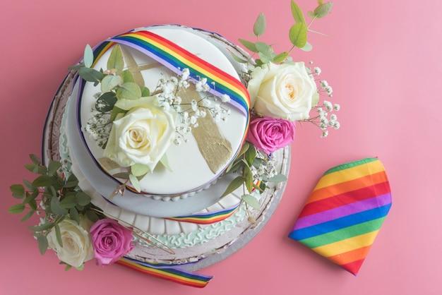 Свадебный торт лгбт