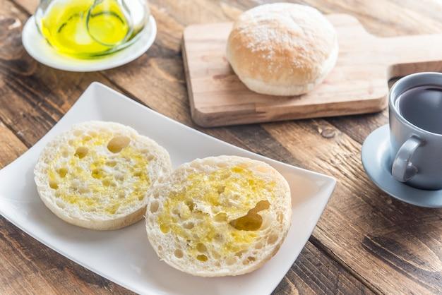 Типичный завтрак в испании