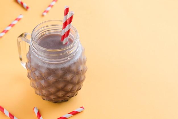 チョコレートミルクシェイク