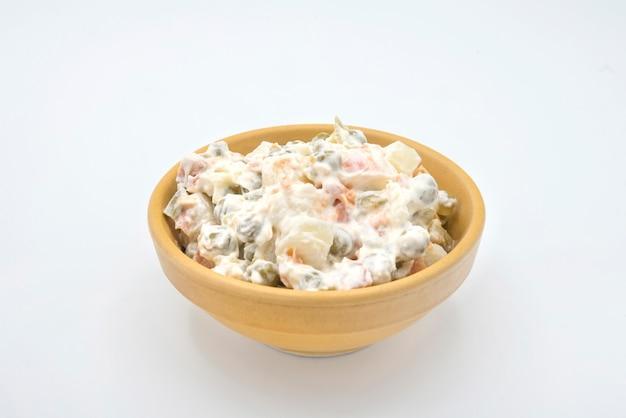 伝統的なロシア風サラダ
