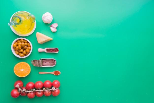 スペインの食材類型