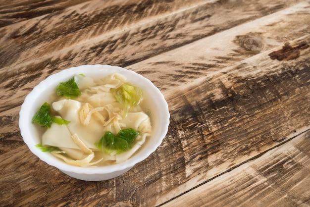 Дневной суп с клецками