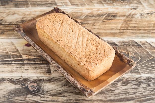 ジェノワーズケーキ典型的なイタリアとフランス