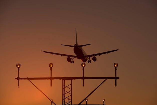 飛行機のシュート高品質