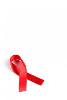 エイズアウェアネスレッドリボン。
