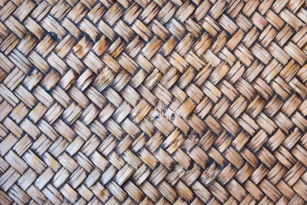 Текстура текстуры ротанга предпосылки близкая