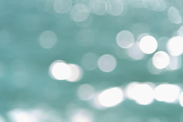 Белое боке на акварели