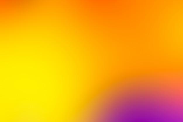 Размытый фон в яркие неоновые цвета.