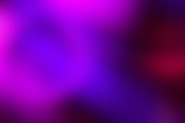 鮮やかなネオン色の背景をぼかし。