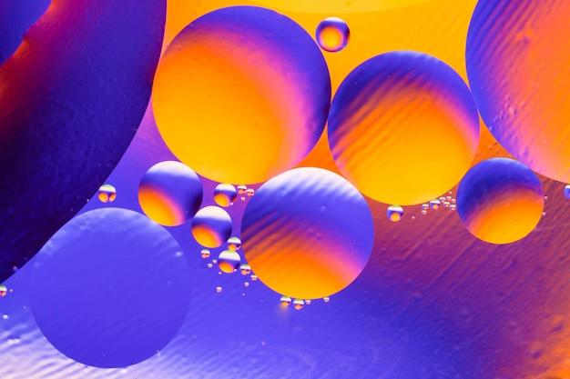 抽象的な分子構造。