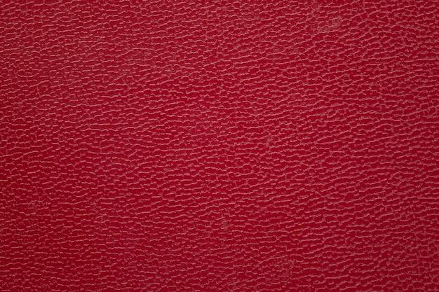 Красный текстурированный фон кожи