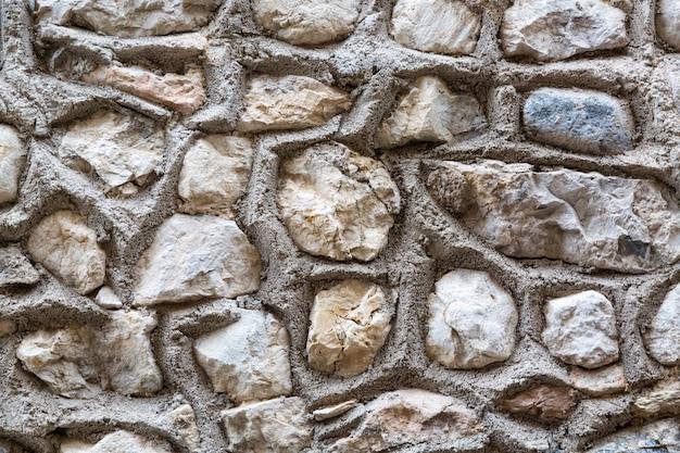 抽象的な石の壁の背景やテクスチャ