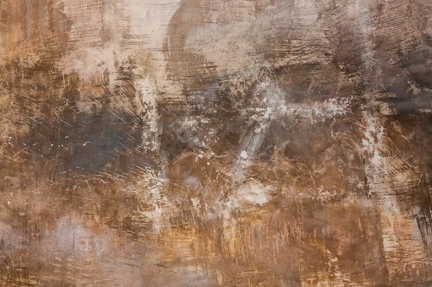 Старый ржавый металлик нарисовал абстрактный