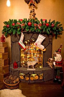 素敵なクリスマスの飾り