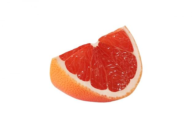 分離されたグレープフルーツフルーツをカットします。