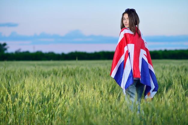 小麦畑の少女