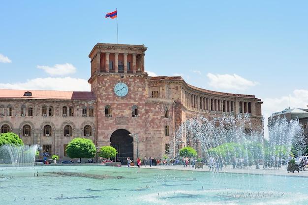 中央広場の噴水