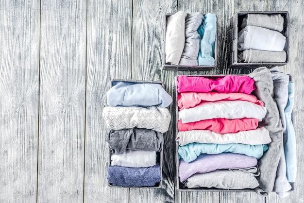 Вертикальный метод уборки одежды мари кондо